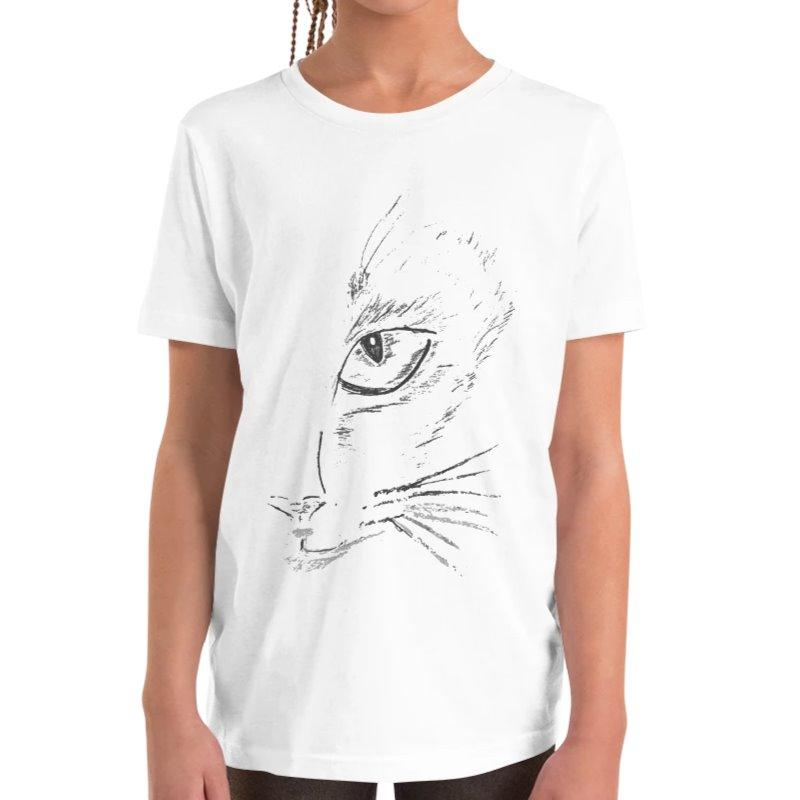 Annie Puaso Fierce Cat T-Shirt on The Good Shop Online Store