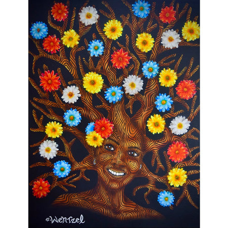 Asteraceae - Original Painting by Stefan Wentzel on The Good Shop Online Store