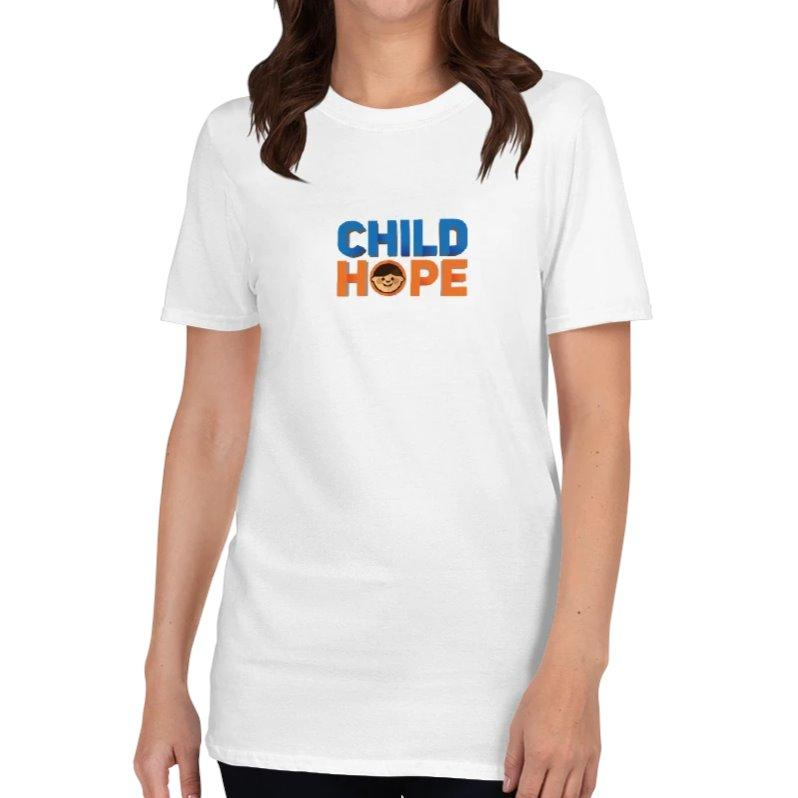 Childhope Logo T-Shirt Womens XL on The Good Shop Online Store
