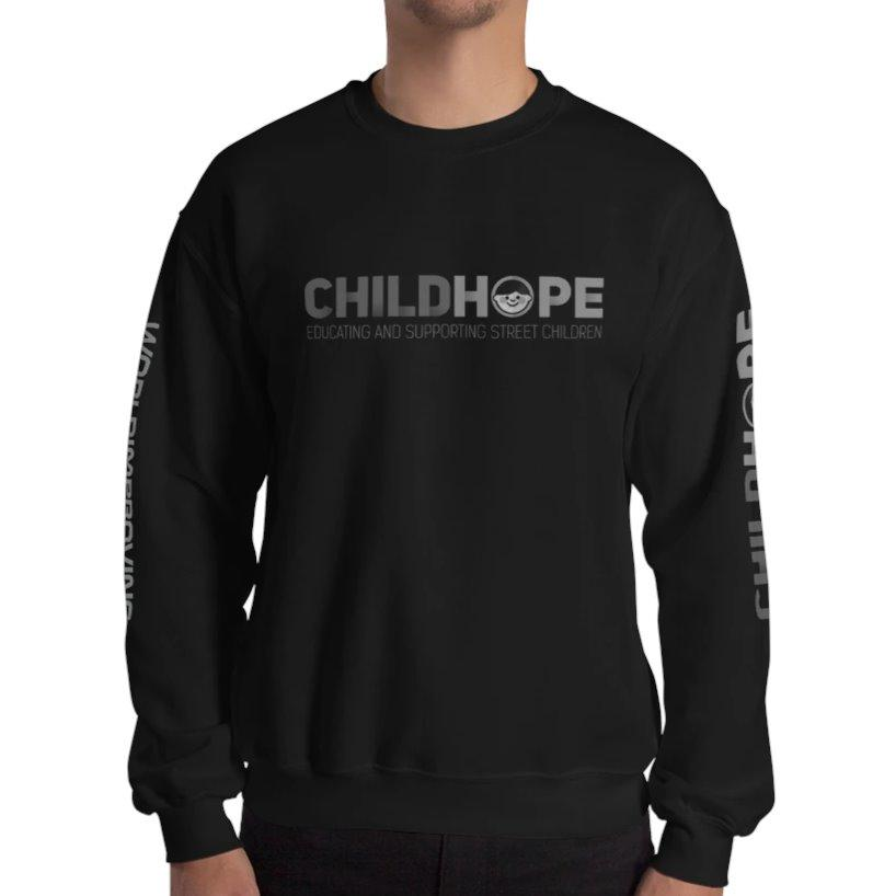 Childhope x Worldimproving Sweatshirt Mens XL Black on The Good Shop Online Store