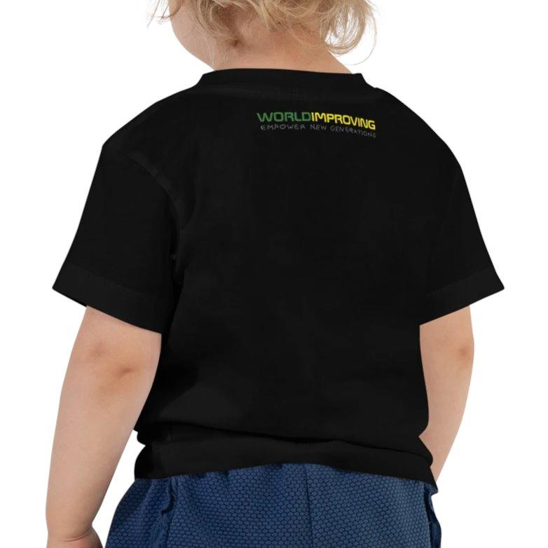 Childhope x Worldimproving Little Kids Toddler T-shirt on The Good Shop Online Store