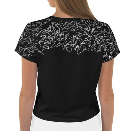 Essen Vicente Bird Flock Crop Top on The Good Shop Online Store