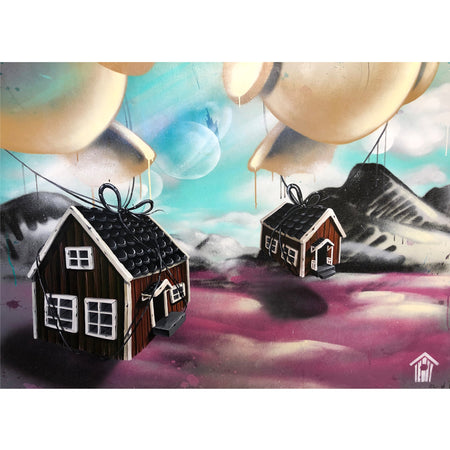 Finding Home II - Original Painting by Victoria Sundqvist on The Good Shop Online Store