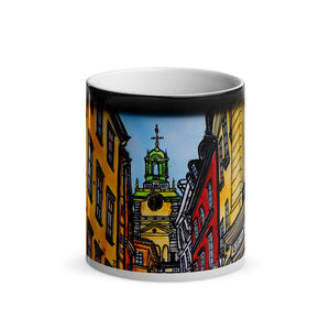 Gamla Stan Old Town Magic Mug 1 - Stefan Wentzel - Stockholm on The Good Shop Online Store