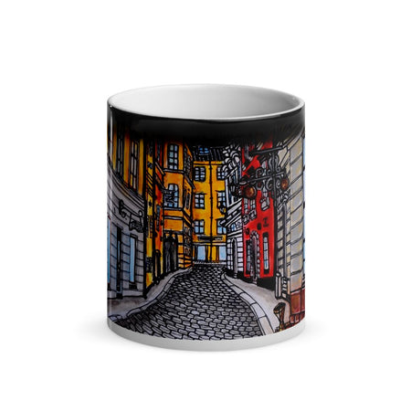 Gamla Stan Old Town Magic Mug 2 - Stefan Wentzel - Stockholm on The Good Shop Online Store