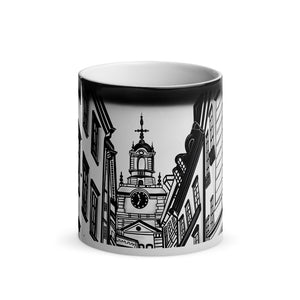 Gamla Stan Old Town Magic Mug 3 - Stefan Wentzel - Stockholm on The Good Shop Online Store