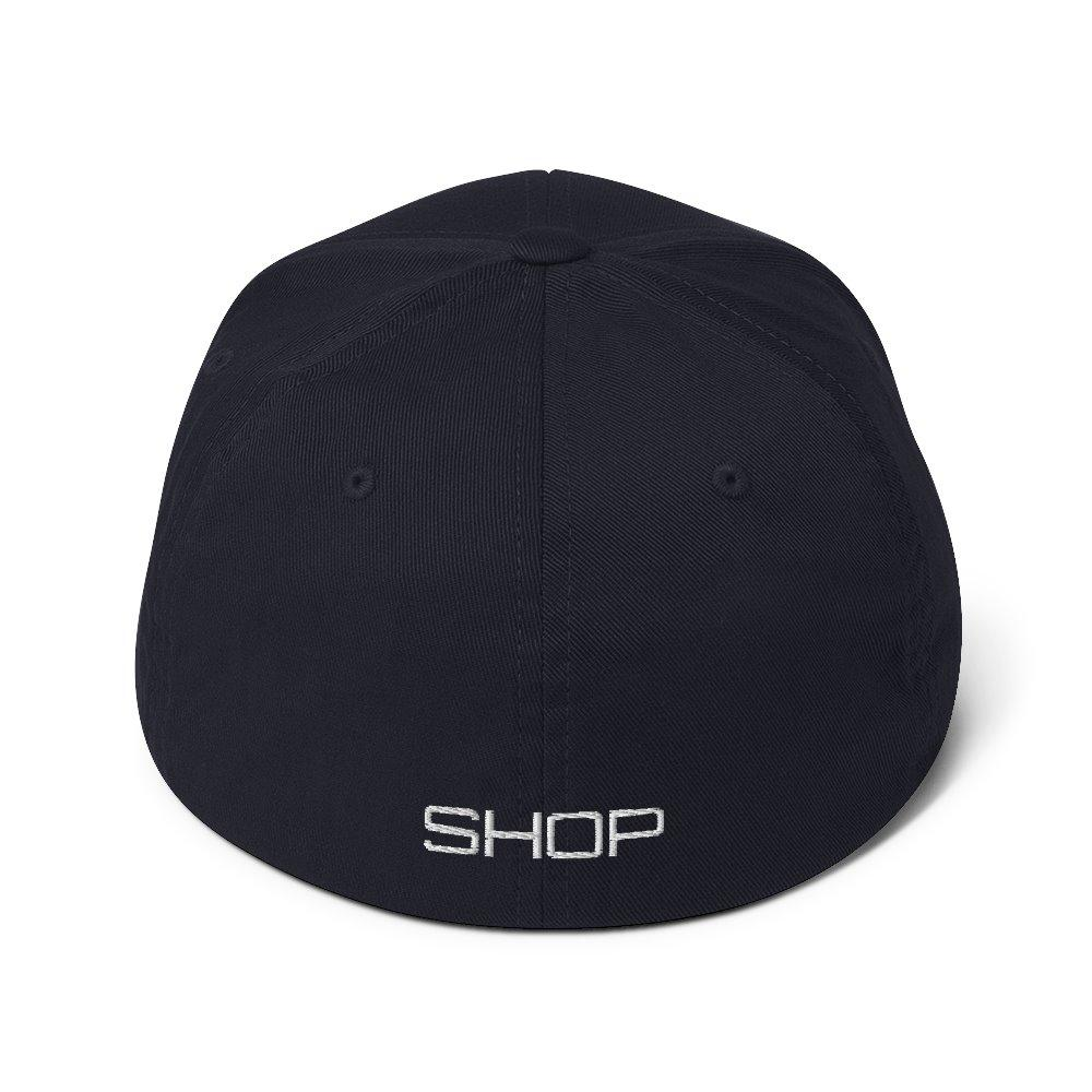 Good Shop Structured Twill Cap - Black on The Good Shop Online Store