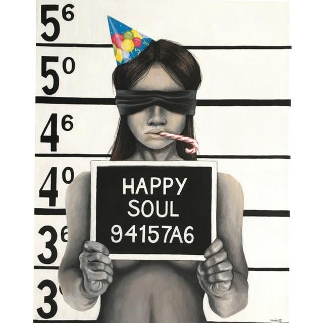 Happy Soul - Denize Artuñedo Engblom - Original Painting on The Good Shop Online Store