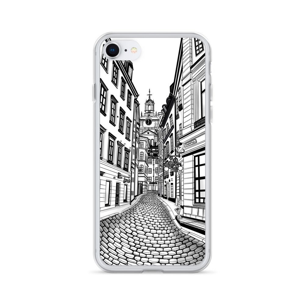 iPhone Case - Gamla Stan - Old Town of Stockholm - Stefan Wentzel on The Good Shop Online Store