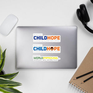 My Gift Helps - Childhope Donation Stickers on The Good Shop Online Store