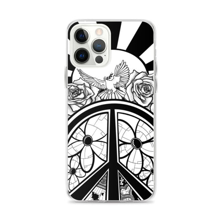 Peace Dove & Flowers iPhone Case - Stefan Wentzel - Art By Wentzel on The Good Shop Online Store