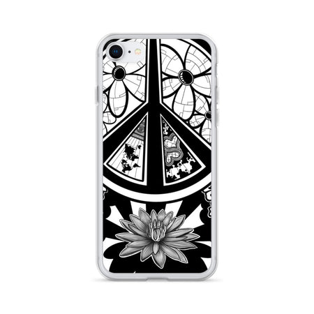 Peace Lotus Flower iPhone Case - Stefan Wentzel - Art By Wentzel on The Good Shop Online Store