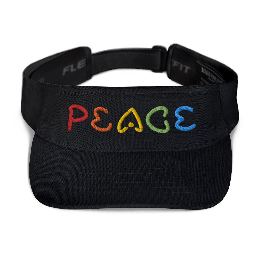 Peace Visor - Heart Rainbow Tag on The Good Shop Online Store