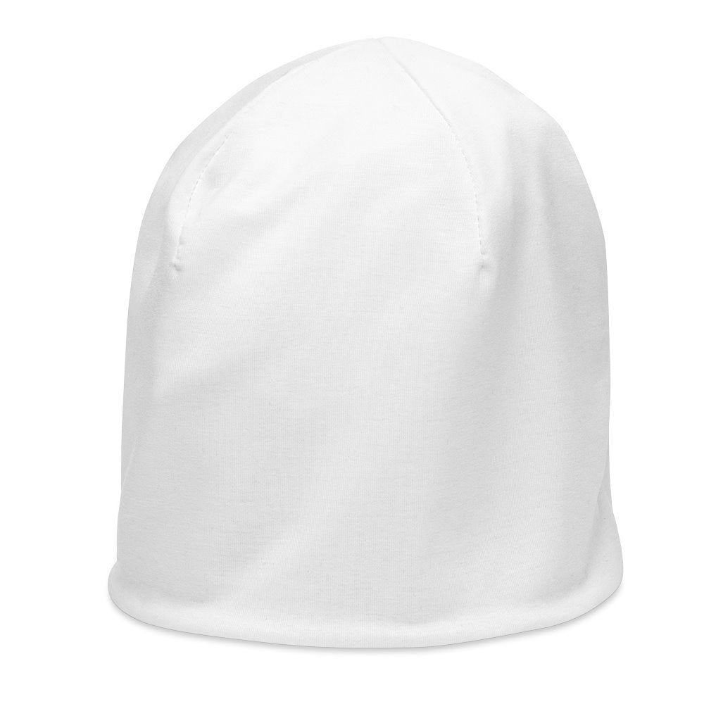 Plain White Beanie on The Good Shop Online Store