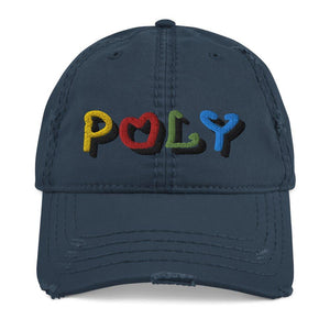 Poly Dad Hat - Distressed on The Good Shop Online Store