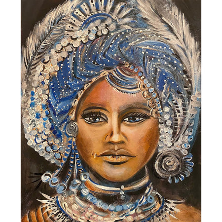 Queen of Everything - Original Painting by Camilla Dahlström - Art by Anuya on The Good Shop Online Store