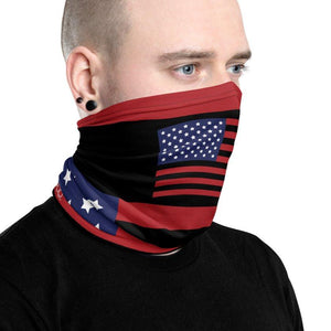 Stars and Stripes US Flag Neck Gaiter on The Good Shop Online Store