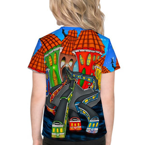 Stockholm Underground Kids T-Shirt - Stefan Wentzel - Art By Wentzel on The Good Shop Online Store