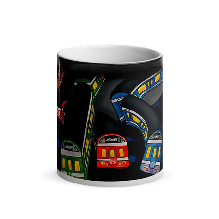 Stockholm Underground Magic Mug 1 - Stefan Wentzel - Art By Wentzel on The Good Shop Online Store