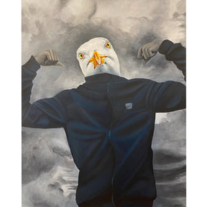 The Seagull: Strong - Denize Artuñedo Engblom - Original Painting on The Good Shop Online Store