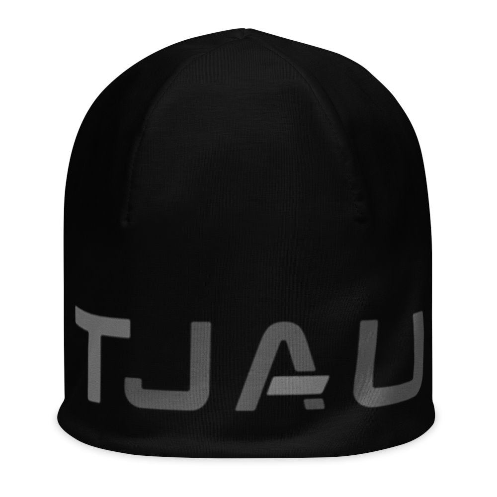 TJAU Beanie - Black on The Good Shop Online Store