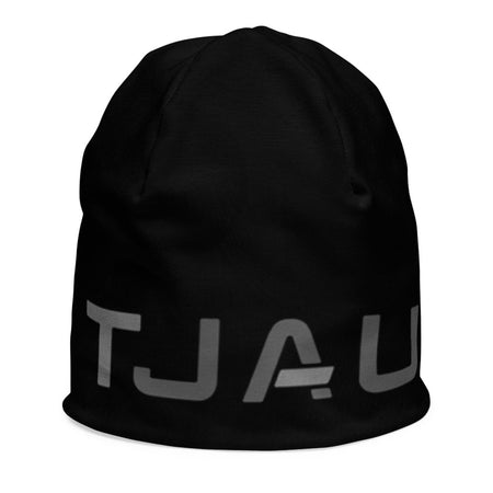 Tjau Kids Beanie - Black on The Good Shop Online Store