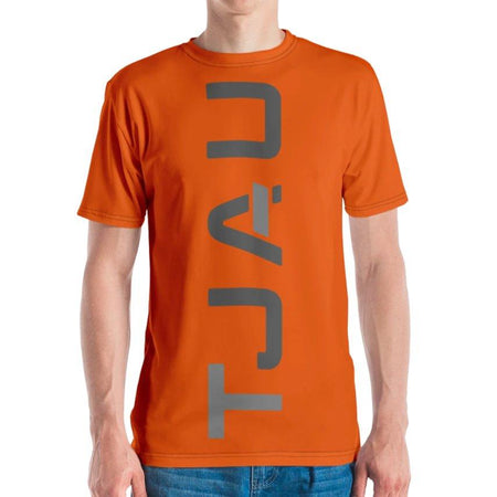 Tjau Logo T-shirt Burnt Orange Limited Edition on The Good Shop Online Store