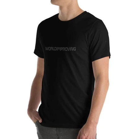 Worldimproving Logo T-shirt Mens XL on The Good Shop Online Store