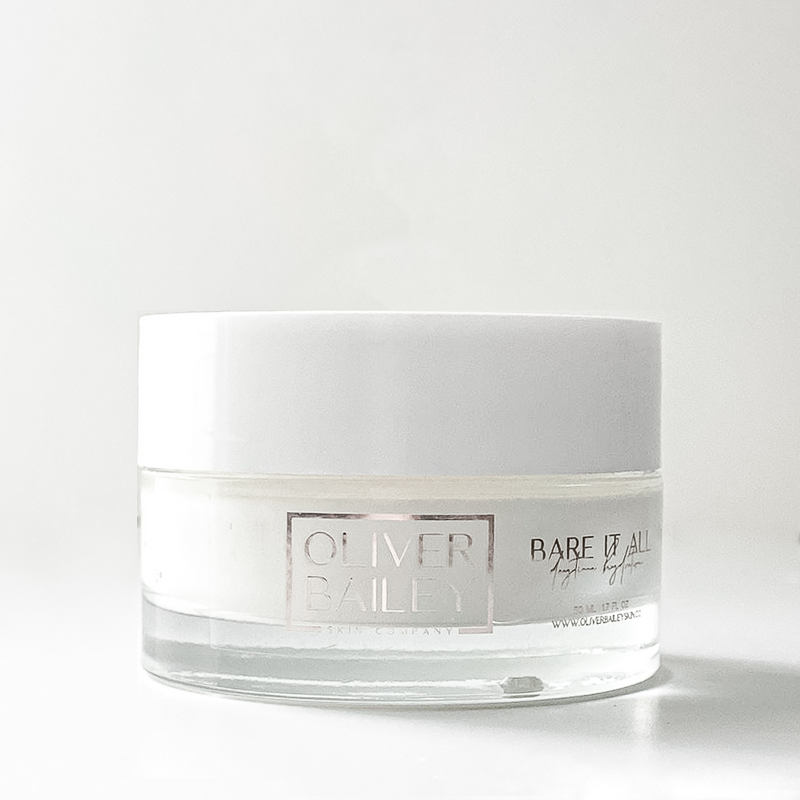 Fragrance Free Moisturizer Bare It All Daily Hydration - Oliver Bailey Skin Company