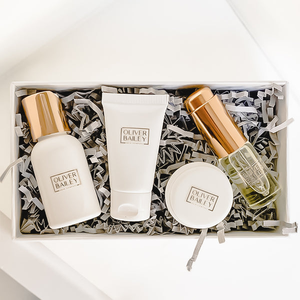 Fragrance Free - Little Bit of Luxury Balancing Starter Set ($42 Value) - Oliver Bailey Skin Company