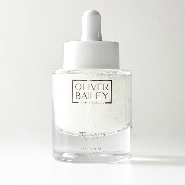 Fragrance Free | Zit & Spin Blemish Purifying Serum - Oliver Bailey Skin Company