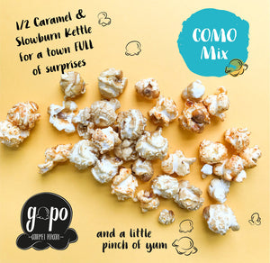 "GoPo Gourmet Popcorn Gallon Bag ""Como Mix"""
