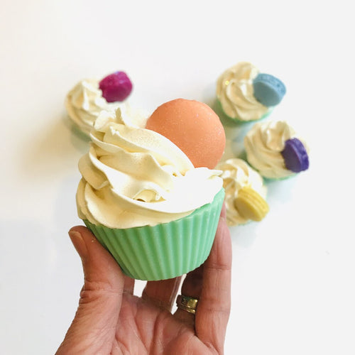 Mother Hen Soap Cupcake