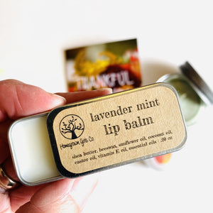"Homegrown Girls Lip Balm Tin ""Lavender Mint"""