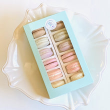 Load image into Gallery viewer, MacKenzie's Blakery Macaron Gift Box Assorted (12 Pack)