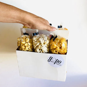 GoPo Gourmet Popcorn 6-Pack Tote (Plume Pick-up Only)