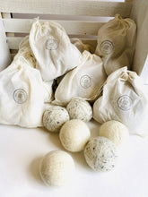 Load image into Gallery viewer, Handmade 100% Wool Dryer Balls - Set of 3