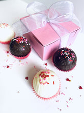 "Load image into Gallery viewer, ""You're the Bomb!"" Valentine Cocoa Bomb Gift Box"