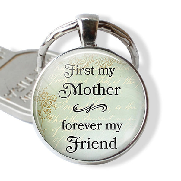 Worlds Best Mom Keychain Mother's Day