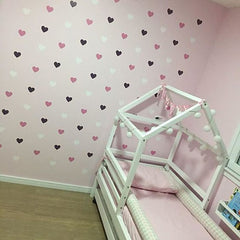 Heart Wall Sticker For Kids Room