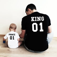 King Prince  Father Son Matching