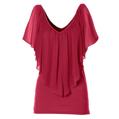 women's chiffon shirt sleeves pregnant women