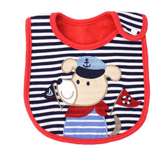 Cotton Christmas Baby Bib Waterproof Bibs