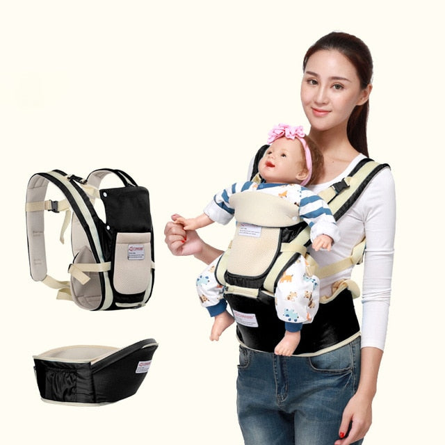 storage ergonomic baby carrier waist