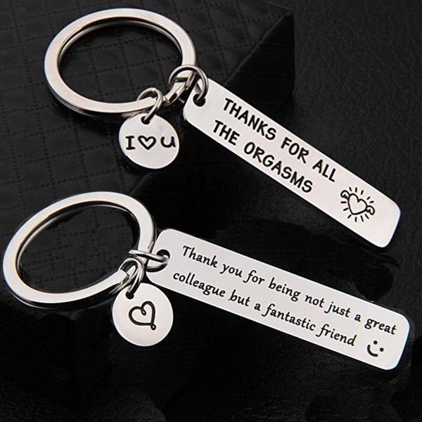 luxury Custom Keyring Engraved  Key Ring