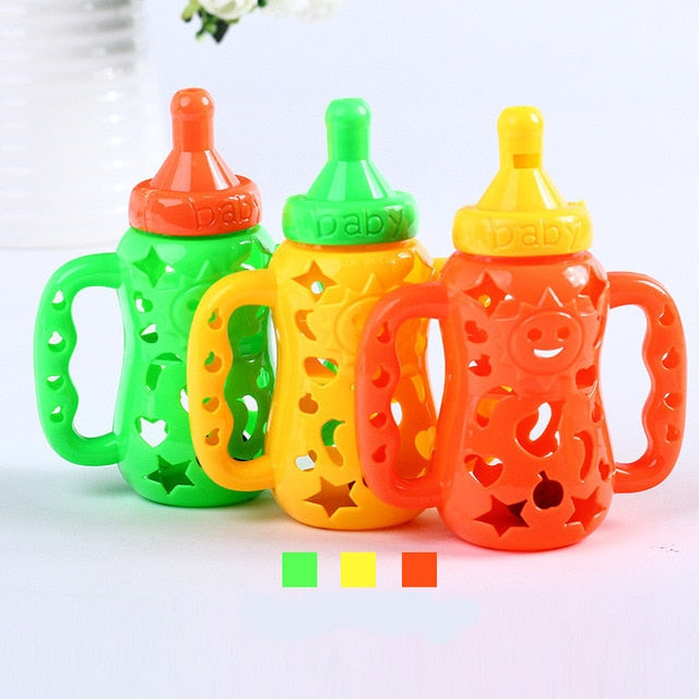 Cartoon Whistle Bottle Baby Rattle Baby Toy