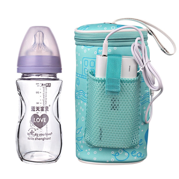 Milk usb baby bottle warmer car heater