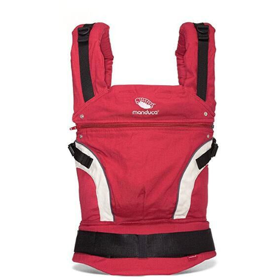 Baby carrier red  color cotton