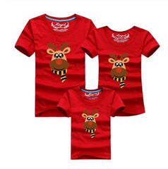 Dad Mom Baby Christmas Clothing