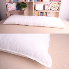Long White Pillow Inner Body Cushion